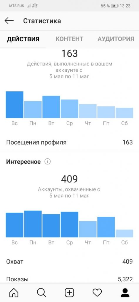Как подключить статистику в Инстаграм - шаг 11